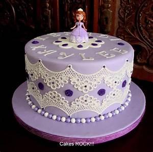 Princess Sofia Cakes - Fondant Cake Images