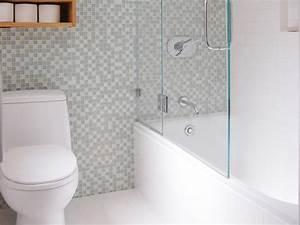 Petite Baignoire Retro : petite salle de bains avec wc 55 id es de meubles et d co ~ Edinachiropracticcenter.com Idées de Décoration