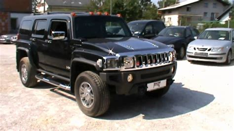 luxury hummer 2007 hummer h3 3 7 4s luxury automatic full review start