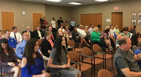floyd county s webb chosen as superintendent of kenton 182 | Kenton Supt announce crowd 2