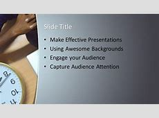 Free Psychological Stress PowerPoint Template Free