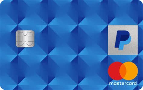 paypal cashback mastercard   apply credit