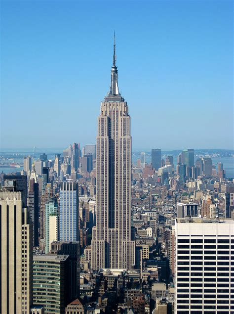 Fileempire State Building From The Top Of The Rock
