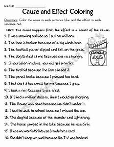 6th Grade » Cause And Effect Worksheets 6th Grade ...