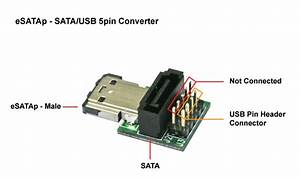 Sata Usb Connector Wiring Diagram