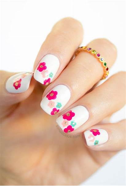 Nail Spring Daisy Jacobs Marc Tutorial Delight