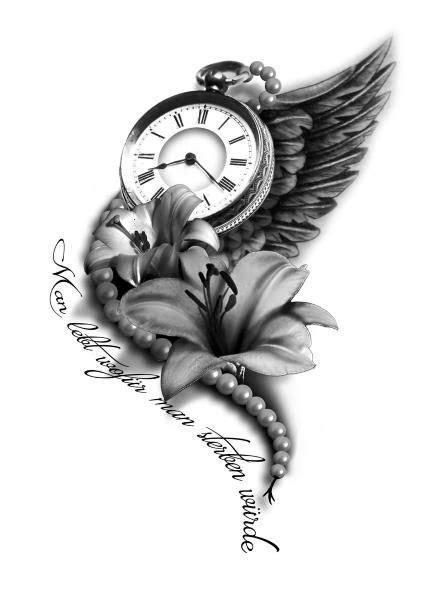 Women Tattoo – 22 Attractive Clock Tattoo Designs & Meanings… | Watch tattoos, Clock tattoo
