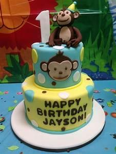 monkey birthday cake template - free printable little monkey birthday invitation template
