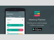 Meeting Planner App by timeanddatecom for Android