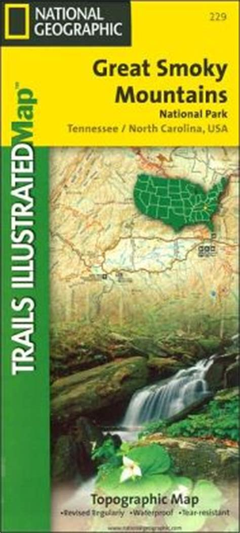 Great Smoky Mountains National Park Topographic Map