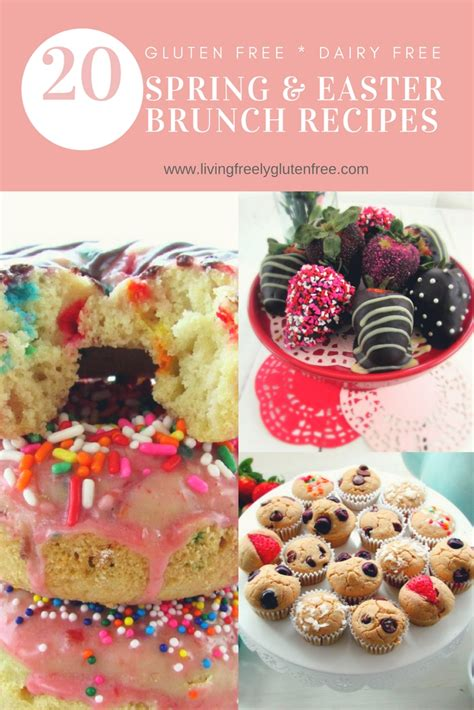 Healthy brunch ideas and healthy brunch recipes! 20 Gluten Free and Dairy Free Easter Brunch Recipes ...