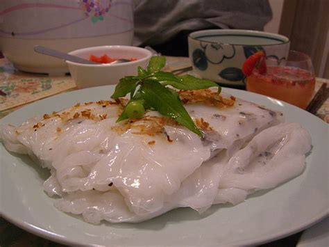 la cuisine vietnamienne recette bánh cuốn heo tôm banh cuon heo tom raviolis