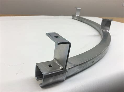 industrial track and trolley hardware for sliding curtains