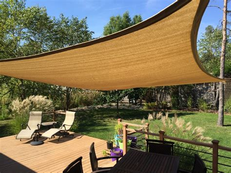 backyard sails improve your backyard install a shade sail