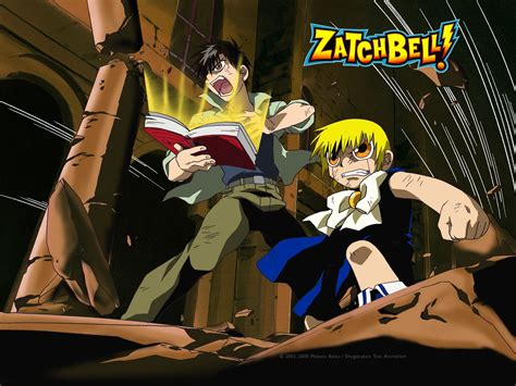cool anime zatch bell konjiki no gash bell