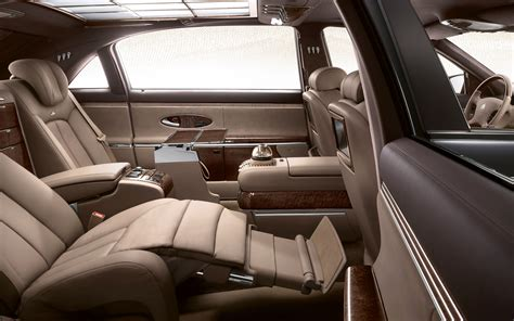 cars with reclining rear seats mercedes s class to receive hyper luxury variants