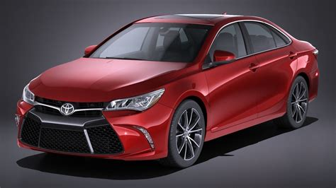 Toyota Camry XSE 2017 3D   CGTrader