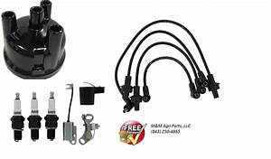Ford Tractor Ignition Tune Up Kit 2000 3000 4000 Wires