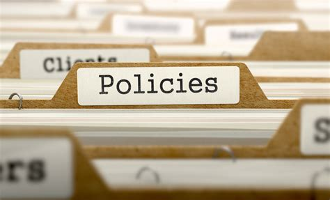 Free Policy Templates Tech Donut