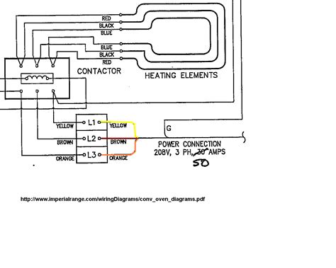 208v Receptacle Wiring Diagram by I Got A Convection Oven 208v 60 3 309 9kw Standard On
