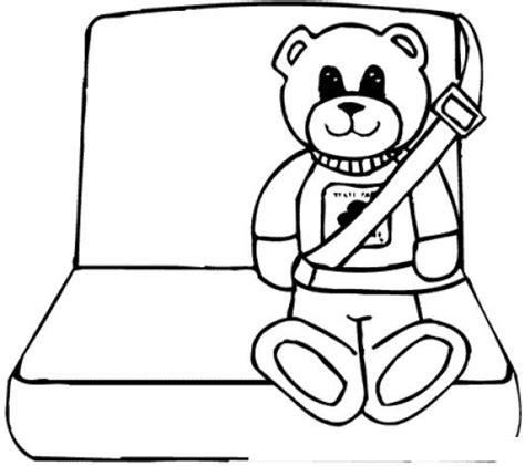 Dibujos Del Cinturon De Seguridad Para Colorear