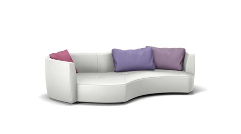 canapé rond roche bobois tangram sofa edge on right roche bobois