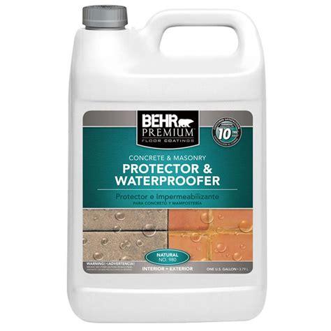 waterproof floor sealer best product to repair seal and waterproof my cement floor before putting down plank flooring
