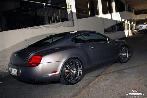 Bentley Continental Gt Custom Wheels Vossen Vf082 22x9 5