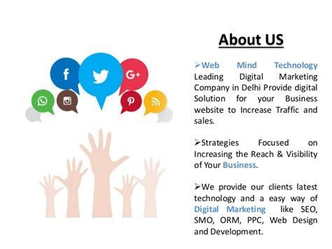 digital marketing company in delhi web mind technology digital marketing company in delhi