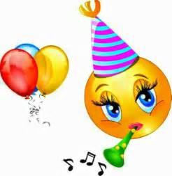 Happy Birthday Smiley-Face Emoji