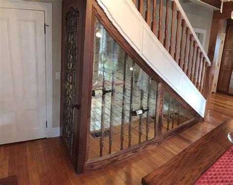 wine cellar  stairs vintageview