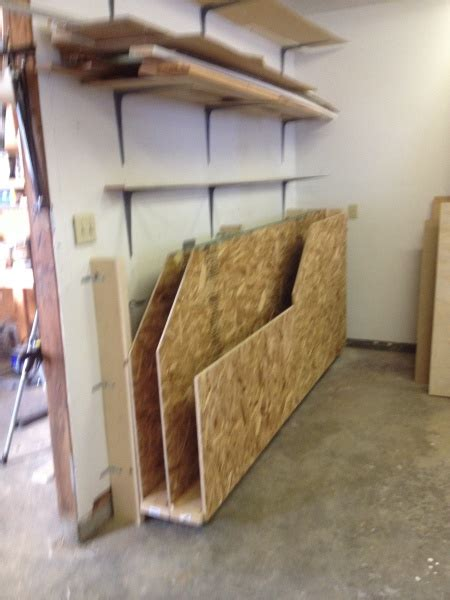 lumber cart  overhead bin woodworking talk