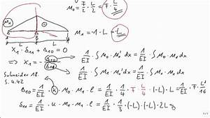 Statisch Unbestimmte Systeme Berechnen : statik kraftgr enverfahren einleitung youtube ~ Themetempest.com Abrechnung