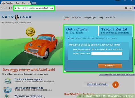 3 Ways To Get A Car Rental Discount Code