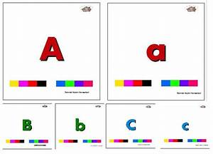 alphabet letter flashcards and posters upper case and With capital letter flashcards