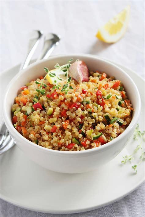 salade mediterraneenne au quinoa