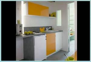 Amenagement petite cuisine 12 idees de cuisine ouverte for Idee deco cuisine avec cuisine tout Équipée avec Électroménager