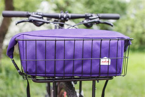 bag with rack rolltop basket rack bag troutmoose