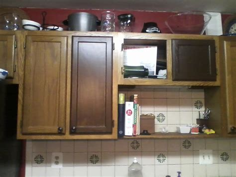 Staining Kitchen Cabinet to Refresh Your Kitchen   My