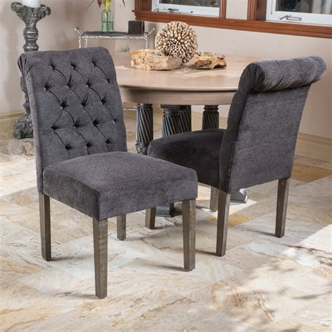 lillard dark grey dining chairs set   walmart canada