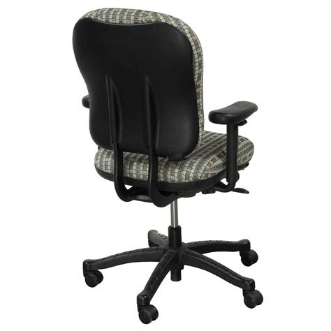 knoll rpm used task chair geometric pattern national