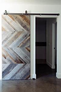 Modern barn doors for a unique home midcityeast for Modern barn doors for a unique home