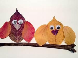 Aus Blättern Basteln : tiere aus bunten herbstbl ttern legen hello mime ~ Lizthompson.info Haus und Dekorationen