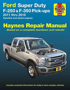 Ford F250    F350 Super Duty Repair Manual 2011