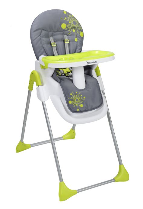 siege badabulle badabulle chaise haute easy gris anis vert anis gris et
