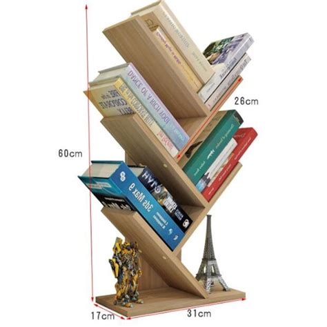 Desktop Bookcase by 60 31 17cm Modern Desktop Bookshelf Four Layer Office