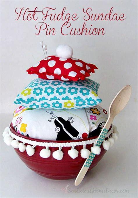 diy licious pin cushion pattern allfreesewingcom