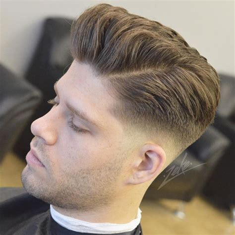 fade haircuts  men  guide