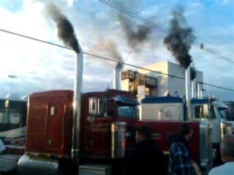diesel nationals peterbuilts spooling  blowing