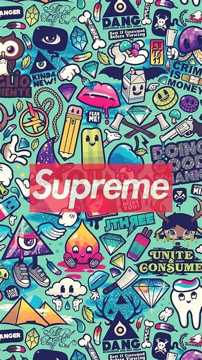 Supreme Wallpapers Glitch Anime Mobile Cave
